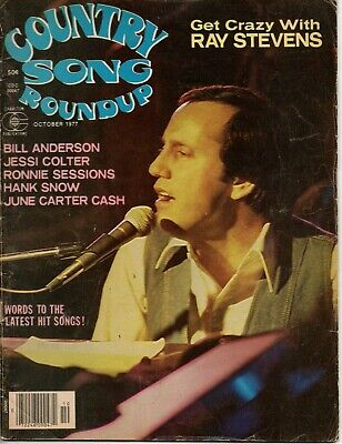 Country Song Roundup Magazine October 1977 Ray Stevens Jessi Colter June Carter