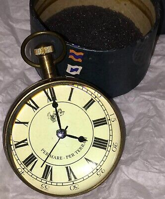 The Eye Of Time Travel Watch Clock by Authentic Models SC050 AM Never Used