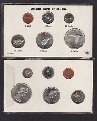 Canada, 1967 6 coin silver uncircuated set