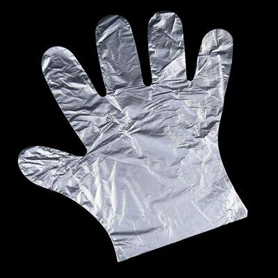 Clear Plastic Disposable Gloves Restaurant Home Service Catering Hygiene