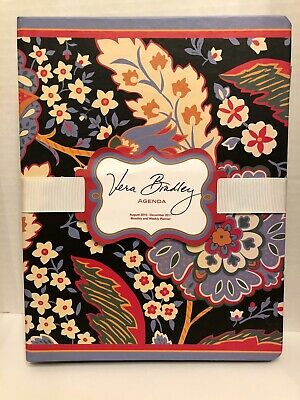 Vera Bradley Agenda Monthly and Weekly Planner 2010-2011 (can be used any year)
