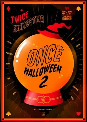 Twice Fanmeeting Once Halloween 2 Official Goods Trading Card Photocard Sealed