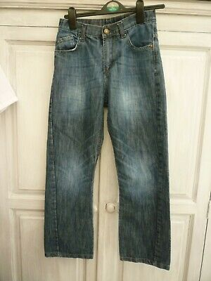 MATALAN Boys Age 12 Years Blue Denim Straight Leg Jeans