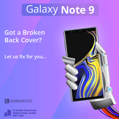 Samsung Note 9 LCD Screen Display Glass Repair Replacement Service Same Day