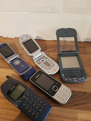 Used Vi Phone Collection Of 5