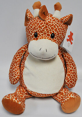 EB Embroider Gerry Giraffe 16 Inch Embroidery Stuffed Animal