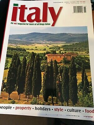 *ITALY* - the magazine for lovers of all things Italian - 46 issues
