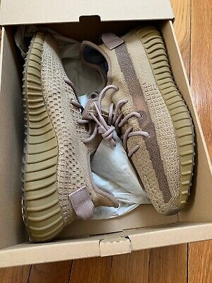 Yeezy Boost 350 V2 Earth Size 9.5 FX9033 100% Authentic YS