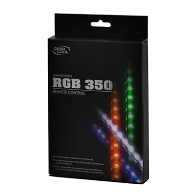 Deepcool RGB Colour LED 350 Strip Lighting Magnetic Kit With Remote