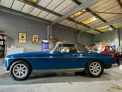 1972 MGB Roadster, Teal Blue,PRICE REDUCTION