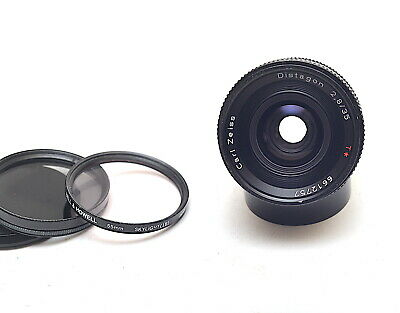 Carl Zeiss Contax Distagon T 35mm 2.8 Wide Angle Lens - *EXC*