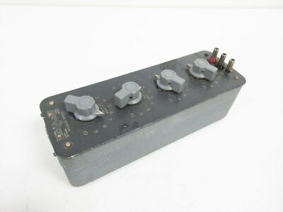 General Radio 1432-L Decade Resistor Gen-Rad
