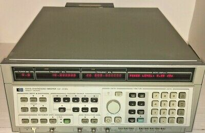 Agilent / HP 8341A Synthesized Sweep Signal Generator (10MHz to 20 GHz) Opt.004