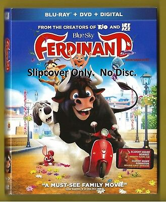 Ferdinand SLIPCOVER ONLY fits blu-ray case