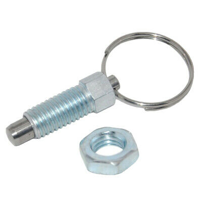 Durable M6/M8/M10/M12/M16 Index Plunger With Ring Pull Spring Loaded Lock Pin
