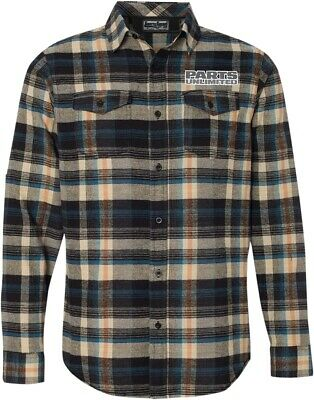 NEW Throttle Threads Parts Unlimited Plaid Flannel Shirt