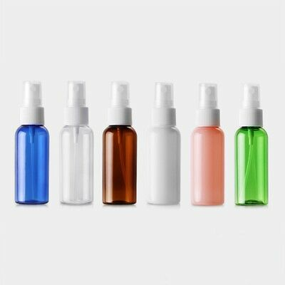 10x 50ml Clear Plastic Perfume Empty Spray Bottle Travel Makeup Beauty US