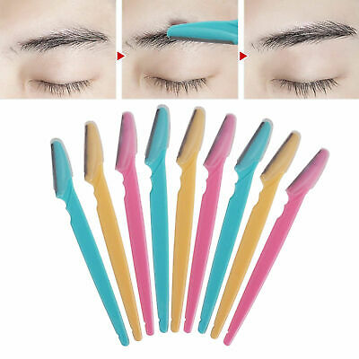 Eyebrow Razor Trimmer Shaper Shaver Facial Safety Hair Remover 1/3/12Pcs SALE