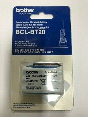 Replacement Battery For BROTHER BCL-BT20