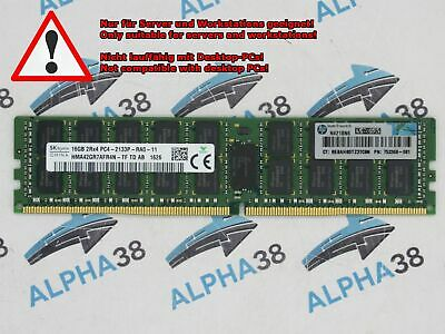 Hynix 16 GB RDIMM ECC Reg DDR4-2133 RAM Cisco C200 M4  C220 M4 Server Ram
