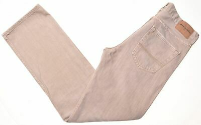 ABERCROMBIE & FITCH Boys Jeans 15-16 Years W30 L31 Beige Cotton Straight  GD05