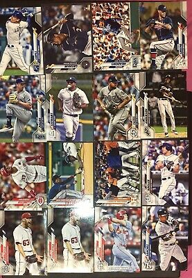 2020 TOPPS SERIES 1 BASEBALL (1-350) You PICK COMPLETE YOUR SET