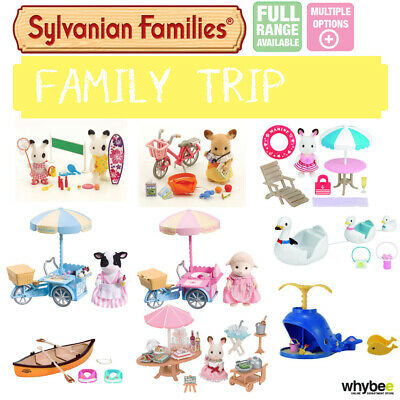 Sylvanian Families Family Trip Sets Full Range Choose Your Set Brand New In Box