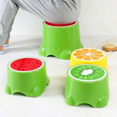EE_ Non Slip Strong Utility Foot Stool Bathroom Kitchen Kids Children Step Up Gr