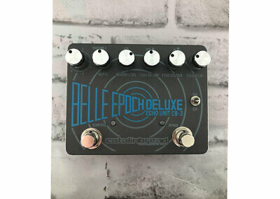 Catalinbread Belle Deluxe Epoch Tape Echo Delay Used FREE 2 DAY SHIP