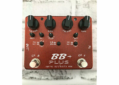 Xotic Effects BB Plus Overdrive Used - FREE 2 DAY SHIP