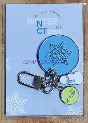 Nct 127 Fanmeeting Winter 127Ctzen Official Goods Metal Key Ring + Photocard New