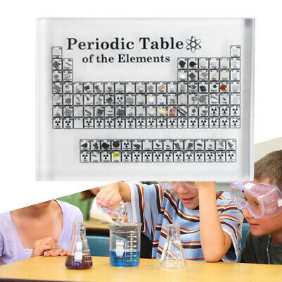 Acrylic Periodic Table Display of Elements Chemical Elements Tool Table Teaching