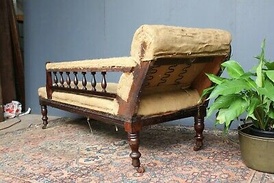 Antique Australian Chaise lounge.  For reupholstery.