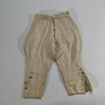 VTG 1920's Tom Sawyer Beige Jodhpurs Style Pants Washwear Boy's sz 8 sanforized
