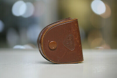 Rollei Lens Hood Brown Leather Case