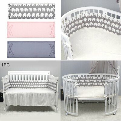 Soft Crib Newborn Baby Cushion Pillows Kids Comfortable Cot Protector Bed Bumper