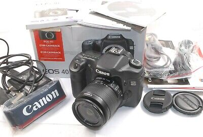 Canon EOS 40D DSLR Kit + new 18-55 IS  Zoom lens, Near Mint, Boxed, Low Usage