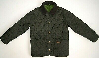 Barbour Shaped Liddesdale Quilted Jacket Children Unisex Kids Girls Size 4/5 XS
