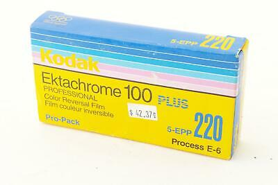 Kodak Ektachrome 100 Plus, 220 type, 5 rolls, EXP 2001-06