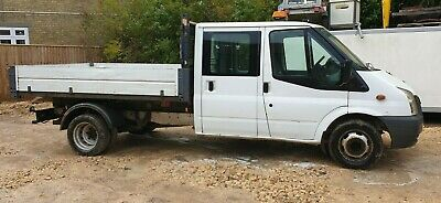 Ford Transit 115 T350L Crew Cab Tipper 2.4 diesel 2009  with MOT