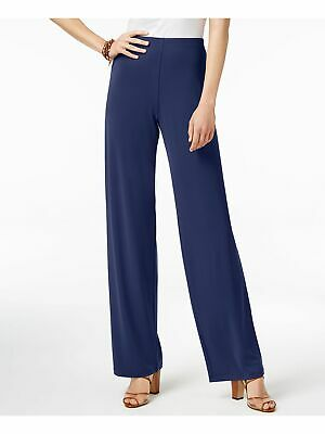 ALFANI $60 Womens New 1704 Blue Casual Pants XL B+B