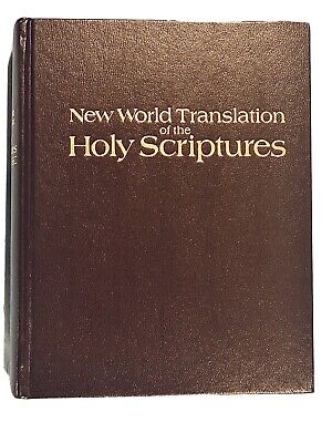 1984 New World Translation Of The Holy Scriptures With References