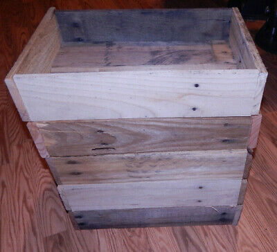 Reclaimed Pallet wood Crate/Box
