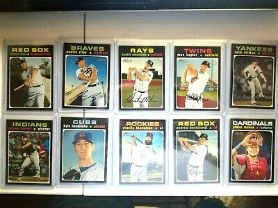 2020 Topps Heritage SP  you pick #400-500 MORE ADDED  on 4-1-20