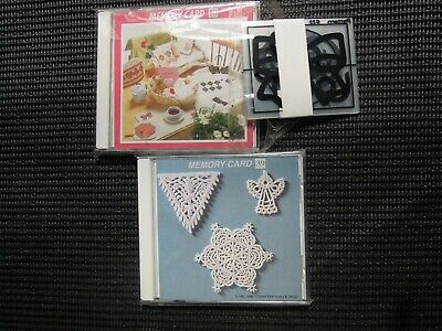 Janome Embroidery Cards Lace and Applique