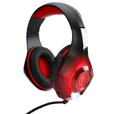 For PS4 3.5mm Gaming Headset Xbox One Headphone PC Earphone Stereo Bass with Mic
