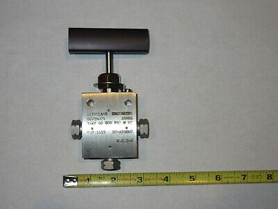 Autoclave Engineers 60VM4074 Stainless Steel 60,000 PSI Valve