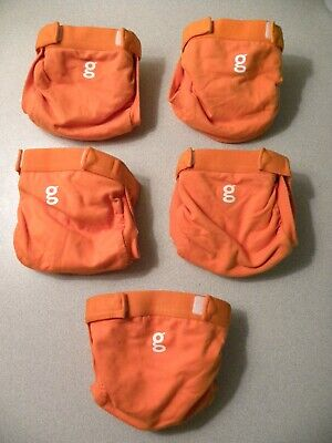 5 gdiapers w/liners small(8-14 lbs)