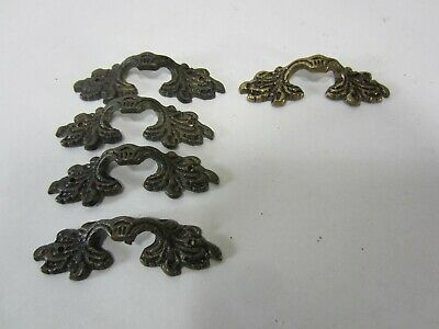 5 French Style Miniature Drawer Pulls - #703