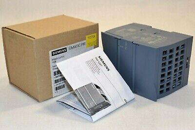SIEMENS 6EP1332-1SH71 SIMATIC S7-1200 POWER MODULE IN 120//230VAC OUT 24VDC//2.5A